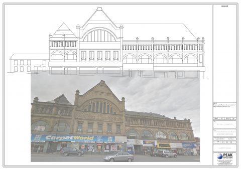 Victorian Building, Oldham