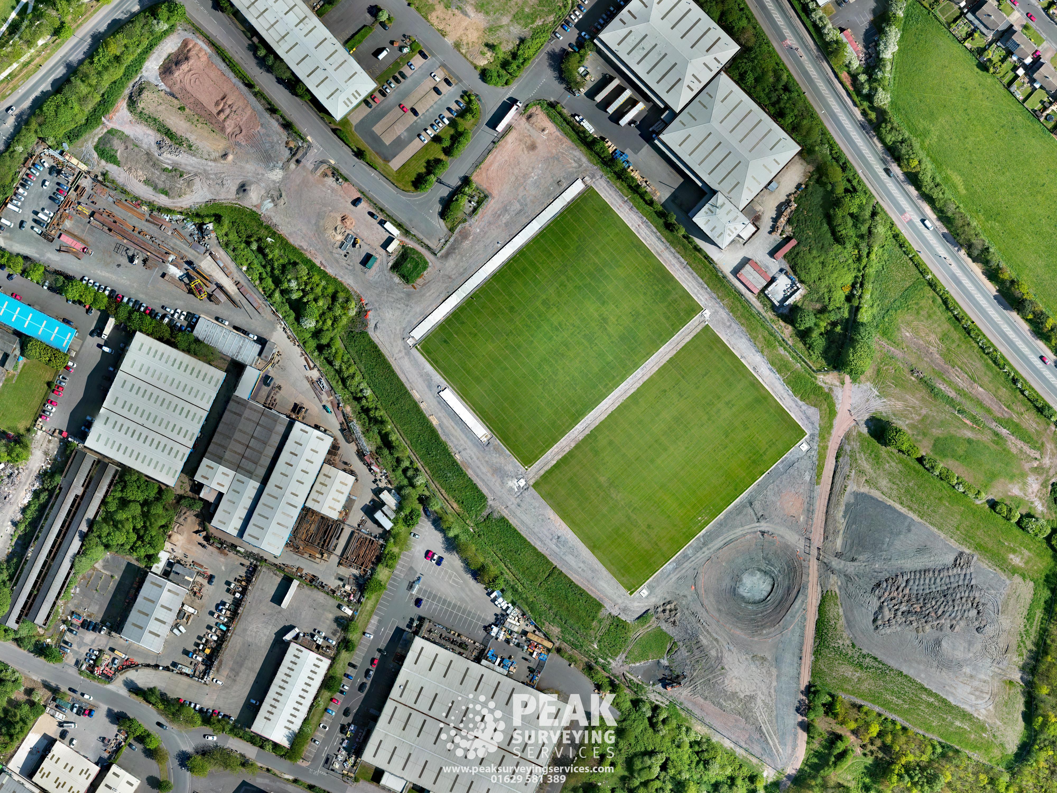 Orthmosaic Aerial Photo