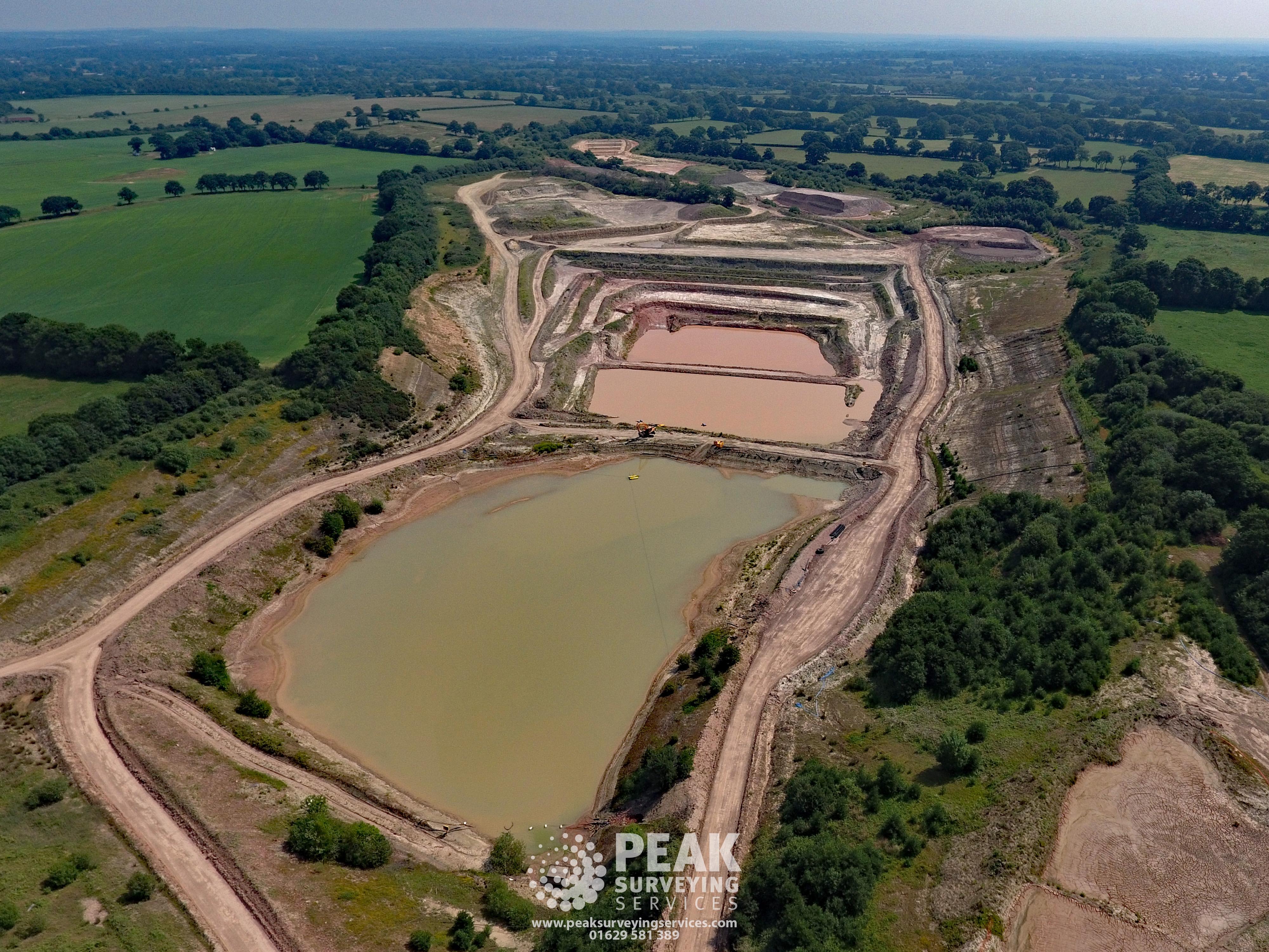Quarry Aerial Photo